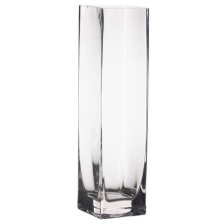 Buy Tall Square Vase in NZ.